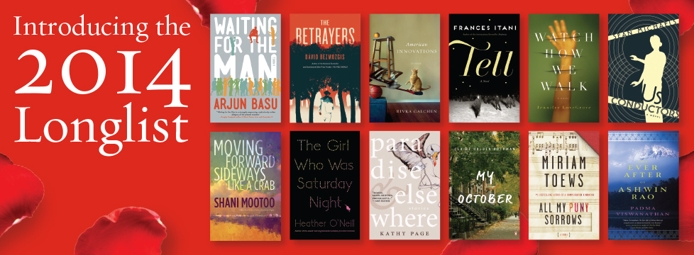 Scotiabank Giller Prize 2014 Long List
