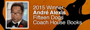 André Alexis Wins the 2015 Scotiabank Giller Prize